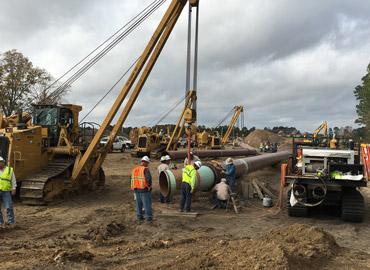 pipeline construction texas